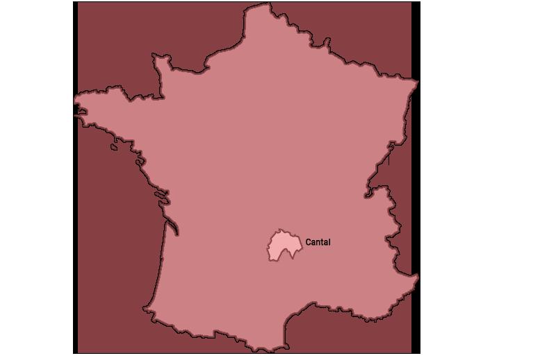 le Cantal en france